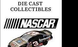 "Hundreds if NASCAR DIE CAST Collectibles from 1989 through 2001. Racing Champion, Action, Winner's Circle, Hotwheels, Matchbox, Team Caliber. Complete collection according to ""Becketts 2011 Price Guide"" is valued at over $9,500. Will accept $4,000 for"