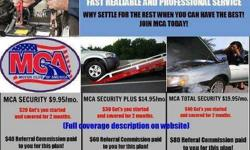 Motor Club of America  Hi my name is Kelli Manson and I am an Independent Contractor with Motor Club of America. I would like to extend an invitation to you to look at a few products that we offer. We offer emergency roadside assistance and more