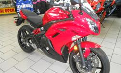 NEW 2012 KAWASAKI NINJA 650 M.S.R.P. $7499.00 CAHILL'S DISCOUNT $1750.00 KAWASAKI REBATE $750.00 SALE PRICE $4999.00 NO MONEY DOWN AND ONLY $145.00 A MONTH (W.A.C.) LAST ONE!! CAHILL'S MOTORSPORTS 8820 GALL BLVD (HWY 301) ZEPHYRHILLS FL 33541