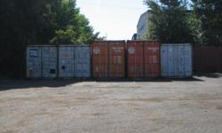 NEWER storage containers - First come first served. Don?t Delay quantity limited. Steel 20?s and 40?s, and 40ft HC. Quick & E-Z delivery right to your site. Available most major cities nation wide . 1-877-6026869 Dial Immediately!