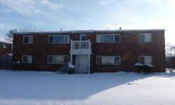 2 bedroom, one bath apartment WITH CENTRAL AIR in a 4 unit building. Well maintained all brick building with off street parking. Close to shopping and bus service. W&D included. Kichen with breakfast bar. Close to Livingston and Courtright. Come take a
