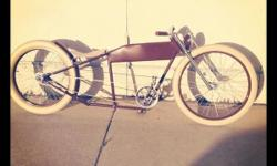 Description This a one of a kind custom stretched cruiser. Perfect for cruising Venice Beach. People won't be able to take their eyes off if you.