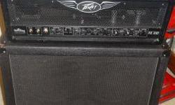 Peavey valveking head 100 and a duratexed not tolexed 412 XXL cabinet. THE HEAD: In great working condition and there is nothing wrong with the dials, knobs, and buttons, albeit a missing pedal, jack washer, and the back grill is not the original. THE