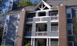 Third floor penthouse unit features vaulted ceilings open floor plan with eat in kitchen opens to den with fireplace. Kitchen features granite counters and bar area. Den and master bedroom have access to large deck with storage closet. Master includes