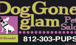 Dog Gone Glam is Evansville?s new ALL BREED pet salon! Our Experienced Pet Stylists: -Show your best friend love and respect! -LISTEN to your NEEDS and DESIRES for your pet! -Specialize in temperament issues! -Offer in-and-out appointments for