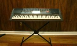 it teach you who you can play music and have instruction on the key board. you are going to love it. trust on that Plus it is in a very excellent condition.