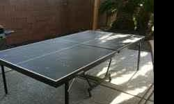 Ping Pong Table that we just dont use anymore and have no room for. I can deliver, or you can pick up for $75.