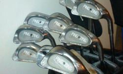 Great condition! 3 through sand wedge, Ping Zing set.  Fairly new grips, black dot.  Call or text Mike --.
