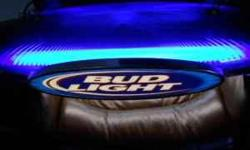 Bud Light Explosion, pool table light. Good condition. comes with bulbs. has some scratches on bottom that may be fixed. Local only please.