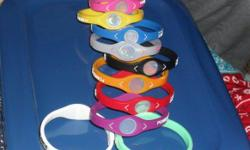 Hi, I have brand new, still in the packages, Power balance technology bracelets . Made to last, durable, 100% Surgical Grade Silicone wristband . Made with a stretch feature that extends easily over your hand, you ll love the style and comfort it