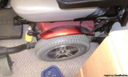 two year old power chair used less then 12 times in great condition. asking $3500.00 or best offer. only serious need to respond.--