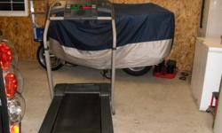 For sale a Pro-form 330 space saver treadmill. Bought at Dicks sporting goods store very little use. The reason parting with it due to back issues. This treadmill is in excellent condition. Asking $150.00 Call anytime ---or cell phone at ---.