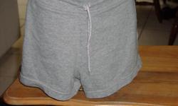 Gray Prospirit women's knit shorts with drawstring. In good condition. Women's size medium.