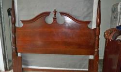 Queen Bedroom Set for Sale. Headboard, Footboard, Dresser with Mirror and 2 nightstands. I also have the matress and boxsprings. If interested, please e-mail me at imakider@att.net. No Scam e-mails please!