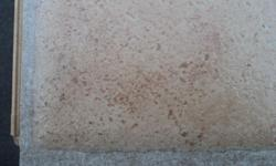 Quickstep tile 90 sf of Vento Brown Tile look great in small kitchen or bathroom or workshop-$1.50sf Ts-44 Congoluem Luxury Vinyl tile priced at 2.00 sf Vinyl Tile 102sf available Call if you are interested in any Products call --
