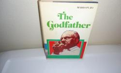 RARE 1969 EDITION: The Godfather by Mario Puzo G.P. Putnam's Sons Book Club Edition EXCELLENT CONDITIONJ; even Dust Jacket