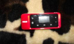 Slightly used touch screen mp3 player red in color, good condition and holds many songs and files, etc .. Interested and want to know more call Josh @ 916-205-5391 ** asking $50.00 obo Thank You and Have a Great Day!!