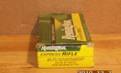 Product Details & Specifications REMINGTON ARMS CO AMMO Centerfire Rifle Ammunition Remington 45-70 Goverment 405 Grain Soft Point For varmint or big game hunting, target shooting, training exercises or any other high volume shooting situation Remington