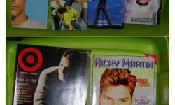 Magazines and VHS Video Tape. Clip out poster, etc. See picture Asking $50.oo or BEST OFFER.