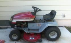 """Riding lawn Tractor 42"""" and 4x8 Trailer"""