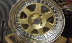 Speed Control JDM Store Is Having A Mega SUMMER Sales.....EXCLUSIVE For Our Store Direct From Japan Jmax Complete Machine Rim And Gold On STOCK Now (15) Drag And TrakLite Rims Are On Special A Set Of Doble Lip For $780.00 With Tires....Specials On All