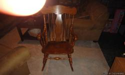 I have a beautiful rocking chair I have had for about 25 years that I use to rock my kids in we just don't anywhere to put it so we are going to sell it. If you would like to see it please give me a call Robbie ( -- ) Thanks Alot