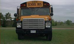 1979 International IHC 1700. 77 passenger bus. 60 Gallon GAS fuel tank. Tires 9.00 x 20. 345 Gasoline engine with automatic tranni. Runs good. Needs altinator and Belts. Great for a camper, a shuttle bus or even for hire or a church. CASH and CARRY. Call