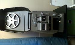 film projector (reel films) reel included in good working condition