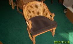 Wanted to buy old cane back barrel chairs like the photo attached. If you have chairs like these for sale please contact me by email at rspence@pixius.net.