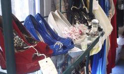 Sexy dresses for Parties and Dates, beautiful Evening/Prom Gowns, and High-Heeled shoes are available at wonderful prices from Betty O's Unique Boutique (TM) at The Virginia Beach Antique Mall, 3900 Bonney Road. All items are gently used and