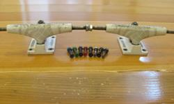 thunder trucks not the thunder hollow lights used ok condition if interested email me at sean.s.lee97@gmail.com