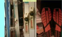 Cross Country waxless skis 210's (and spare 210 ski), Rottefella NNN BINDINGS (2 JXC one with binding and Peltonen with binding), Swix ski POLES, and Artex thinsulate boots (some cracking) size 44 (11 womens / 9 1/2 mens) They are about 30 yrs old, but
