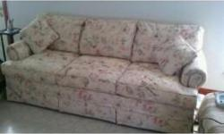 Like new, must sell, 84X36 Sealy sleeper sofa, queen size mattress. Great deal!!