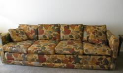 BEAUTIFUL SOFA & LOVESEAT MINT CONDITION, VERY COMFORTABLE MUST HAVE TRUCK OR VAN TO TRANSPORT CASH ONLY