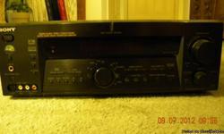 Sony Digital Audio/Video Control System Digital Cinema Sound/Discrete 6 CH Amplifier Cash only