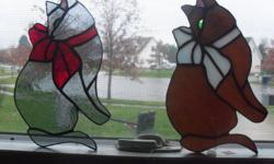 """hand crafted 9"""" have two one gray and one orangish,brown. will not ship but will make plans with you for a safe delievery 5665933 in the erie area they are each $23"""