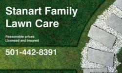 Mowing, trimming, leaf removal, gutters, general cleanup, mulch, flowerbeds, and hedges.