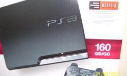 Sony Playstation 3, 160 GB/GO