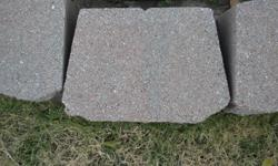 I have 50 of these flower bed stone edgings. They sell for $3.50 at Lowes and Home Depot and I am asking $2.50 for each one.