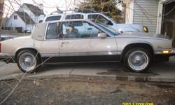 1989 Eldorado birittz super clean everything works hi dollar flip out dvd indash sub/amp in trunk trues and vogues drives like new.