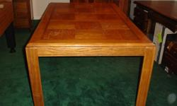 Great Utility Table or Kichen Table, it is in good condition, very sturdy. The measurements are:: 29'H, 3ft W, 5' long.