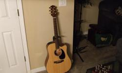Takamine EG340C Acoustic/Electric Guitar. Excellent condition.