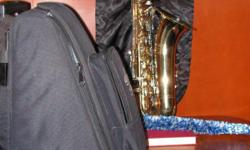 Selmer Tenor Saxaphone, Student model in a new traveling case.