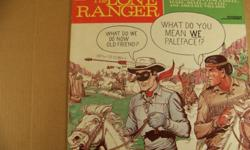 This is a 33 RPM record about the origination of The Lone Ranger and Tonto and Silver. The record and jacket are both in excellent condition. I'll ship it for $2.00 I accept PayPal payment.