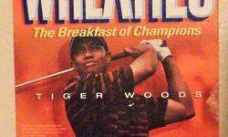 TIGER WOODS WHEATIES BOX SHIPPING 3.00