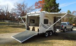 2008 Coachman Breeze 150 18' Toy Hauler Electric Bed -2 Awnings-New Tires -Flat Screen TV -DVD- Microwave-Stove Full Bath -Very Good condition Call 870-321-4884