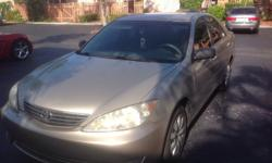 Camry le, 2005. Good mechanical condition,new front brake,batterie,new alternator. Small scratch on right rear door. Other very good in and out see pictures. Call at 305-335-1322.