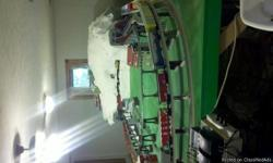 Basement size layout, selling all or piece out. This includes trains, scenary, and accessories all O Gauge. This is in the Fredericksburg/Spotsylvania, VA area. Started train set six years ago and lost interest. Excellent Condition!!!