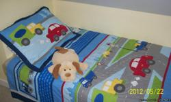 Adorable, like NEW twin duvets and sheet set.