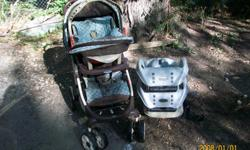gracocarseat stroller and three bases for 100